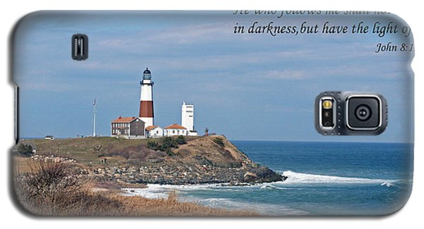 Montauk Lighthouse/camp Hero/inspirational Galaxy S5 Case