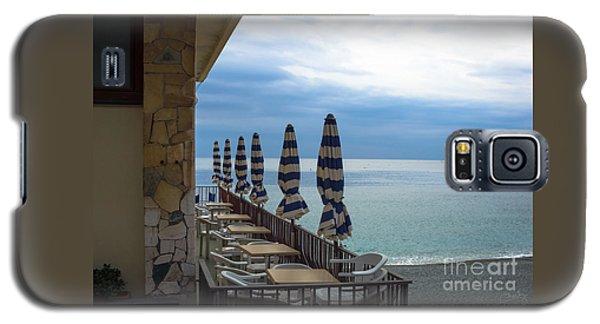 Monterosso Outdoor Cafe Galaxy S5 Case