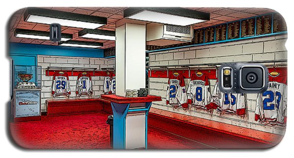 Montreal Canadians Hall Of Fame Locker Room Galaxy S5 Case