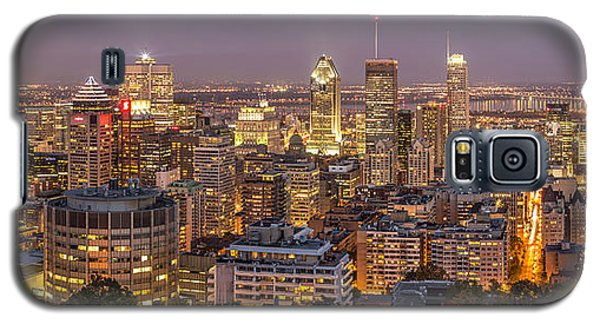 Montreal Skyline At Night Galaxy S5 Case