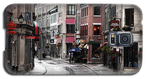 Montreal Street Scene Galaxy S5 Case