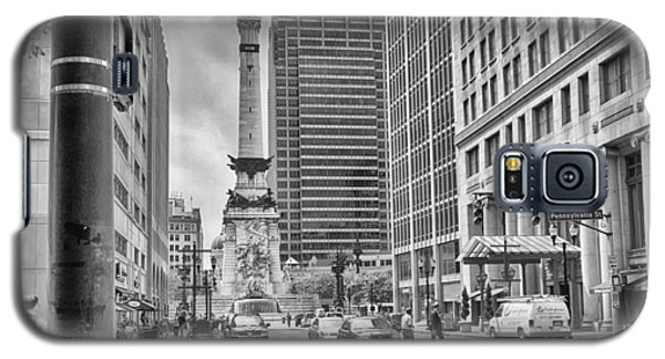 Monument Circle Galaxy S5 Case by Howard Salmon