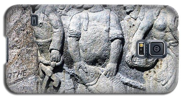 Monument To Fishermen In Granite Galaxy S5 Case by Patricia Januszkiewicz