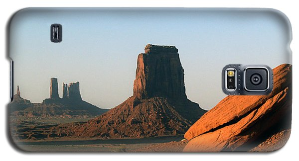 Galaxy S5 Case featuring the photograph Monument Valley Afternoon by Jeff Brunton
