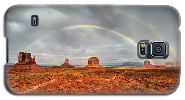 Monument Valley Double Rainbow Galaxy S5 Case