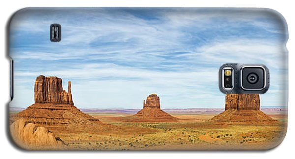 Monument Valley Panorama - Arizona Galaxy S5 Case by Brian Harig
