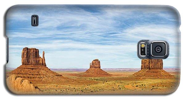 Monument Valley Panorama - Arizona Galaxy S5 Case
