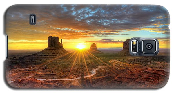 Monument Valley Sunrise Galaxy S5 Case