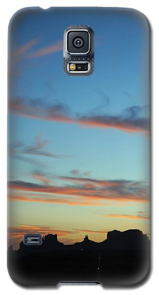 Galaxy S5 Case featuring the photograph Monument Valley Sunset 3 by Jeff Brunton
