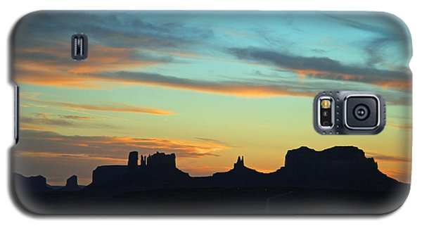 Galaxy S5 Case featuring the photograph Monument Valley Sunset 4  by Jeff Brunton
