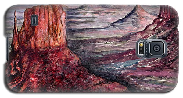 Monument Valley Arizona - Landscape Art Painting Galaxy S5 Case