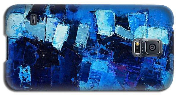 Mood In Blue Galaxy S5 Case
