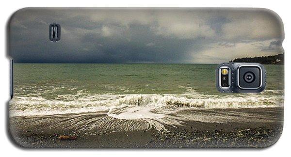 Moody Swirl French Beach Galaxy S5 Case