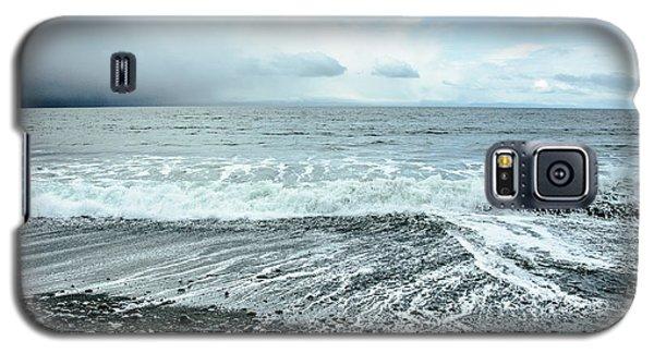 Moody Waves French Beach Galaxy S5 Case