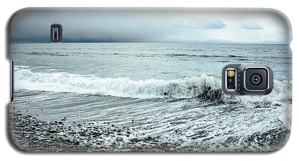 Moody Shoreline French Beach Galaxy S5 Case