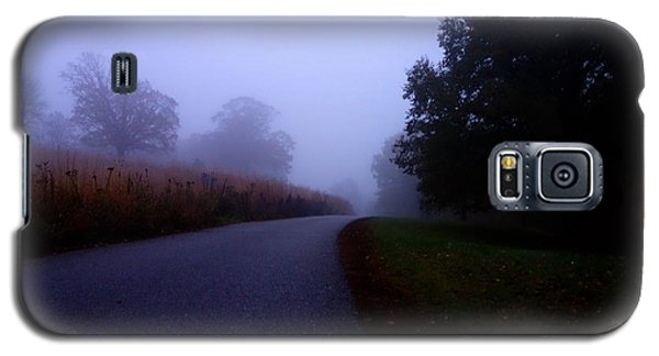 Moody Autumn Pathway Galaxy S5 Case
