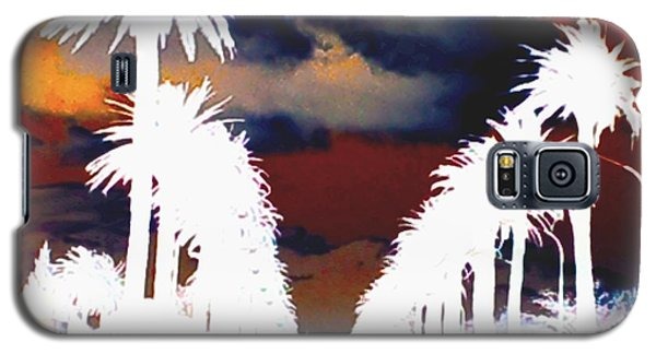 Galaxy S5 Case featuring the photograph Moody Blues by Linda Hollis