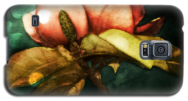Moody Magnolia Galaxy S5 Case by Therese Alcorn