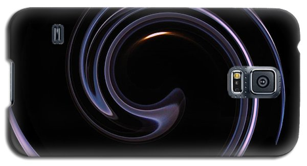 Moon And Smoke Spiral Galaxy S5 Case