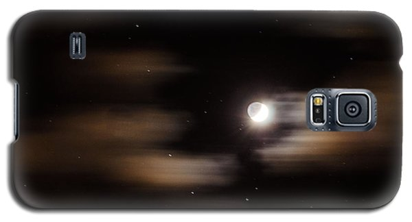 Galaxy S5 Case featuring the photograph Moon And Stars II by Judy Wolinsky