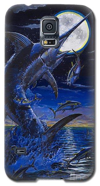 Swordfish Galaxy S5 Case - Moon Doggie Off00124 by Carey Chen