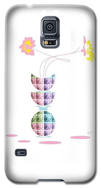Moon Flower 2 Galaxy S5 Case by Ann Calvo