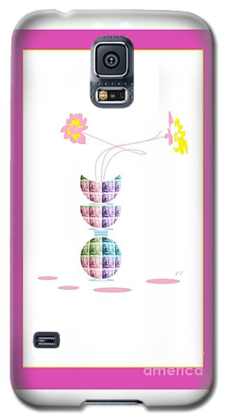 Moon Flower 2 Galaxy S5 Case