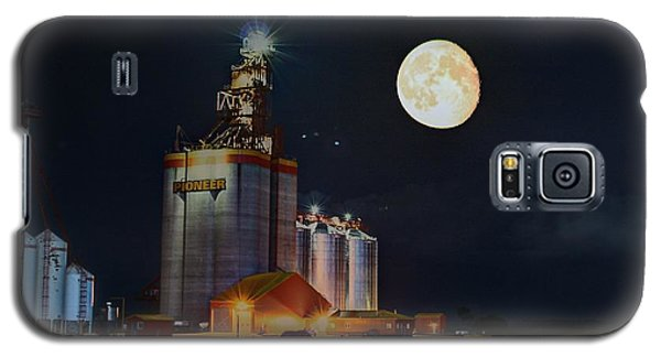 Moon Glow Over Elevator Galaxy S5 Case