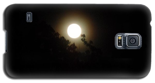 Galaxy S5 Case featuring the photograph Moon Glow by Philomena Zito