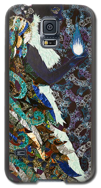 Moon Guardian - The Keeper Of The Universe Galaxy S5 Case by Apanaki Temitayo M