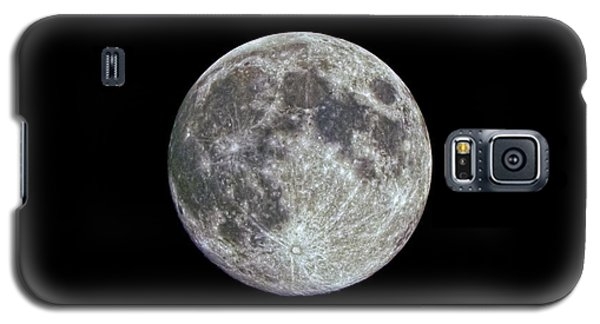 Galaxy S5 Case featuring the photograph Moon Hdr by Greg Reed