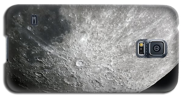 Moon Hi Contrast Galaxy S5 Case by Greg Reed