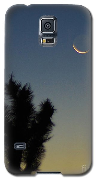 Galaxy S5 Case featuring the photograph Moon Kissed by Angela J Wright