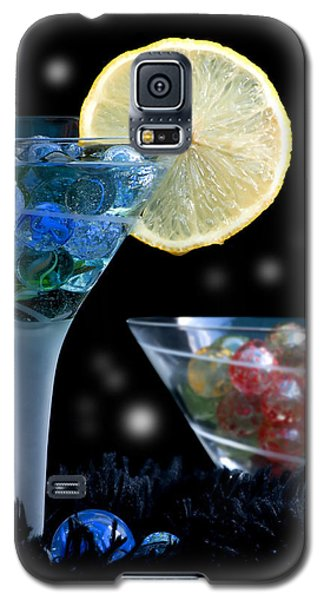 Moon Light Cocktail Lemon Flavour With Stars 1 Galaxy S5 Case by Pedro Cardona