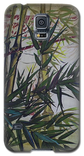 Moon Lovers With Flute  Galaxy S5 Case by Avonelle Kelsey
