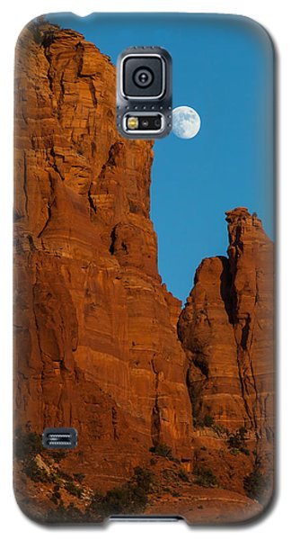 Moon Over Chicken Point Galaxy S5 Case