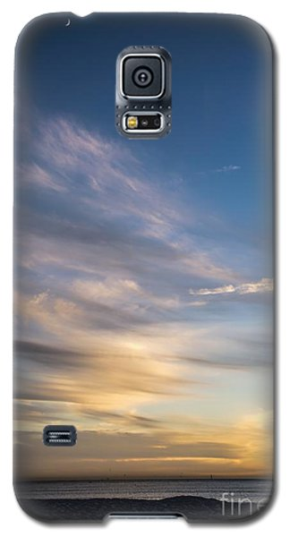 Moon Over Doheny Galaxy S5 Case by Peggy Hughes