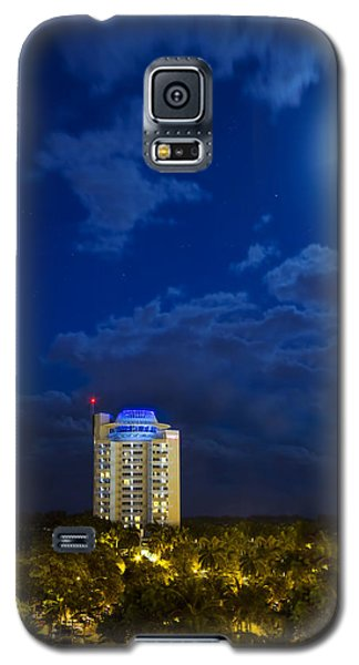 Moon Over Ft. Lauderdale Galaxy S5 Case