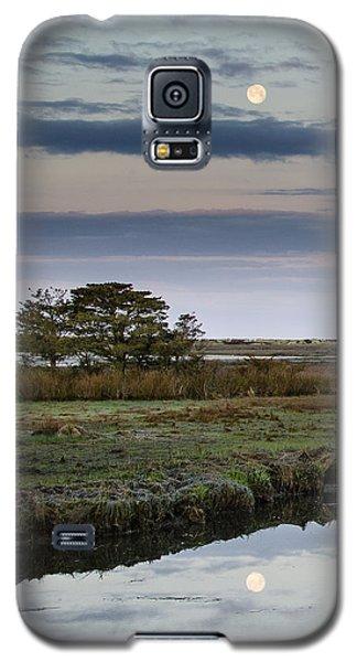 Moon Over Marsh Galaxy S5 Case