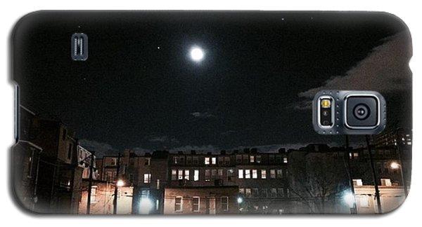 Moon Over Midtown Galaxy S5 Case