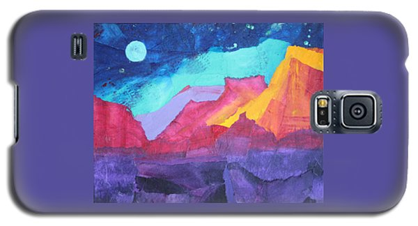 Moon Over Sedona Galaxy S5 Case