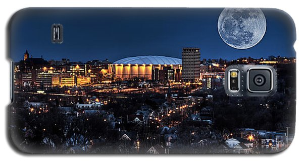 Florida State Galaxy S5 Case - Moon Over The Carrier Dome by Everet Regal
