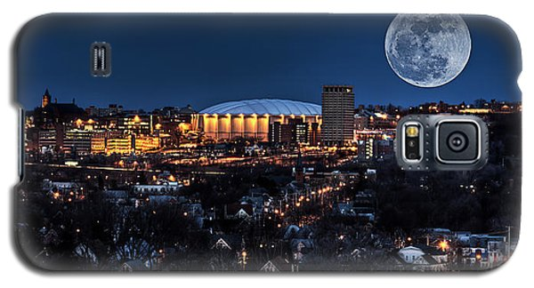 Moon Over The Carrier Dome Galaxy S5 Case