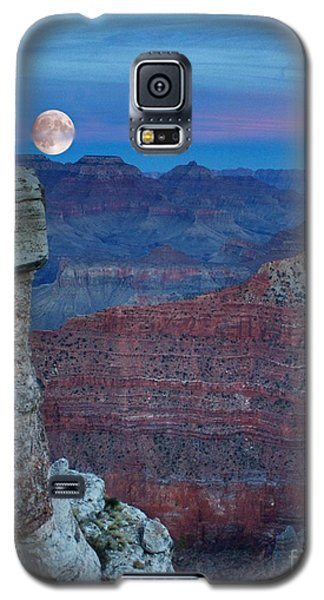 Moon Rise Grand Canyon Galaxy S5 Case