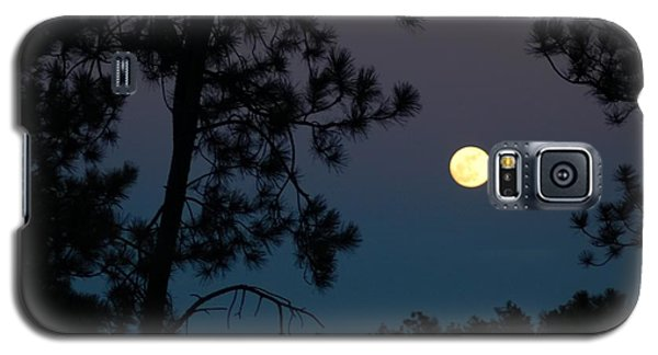 Moon Rise In Twilight Galaxy S5 Case