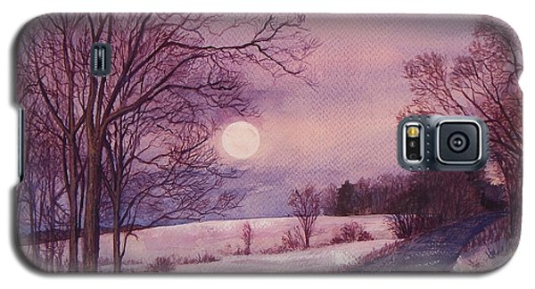 Moon Rising Galaxy S5 Case
