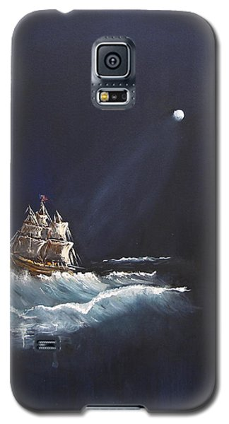 Moon Sailing Galaxy S5 Case