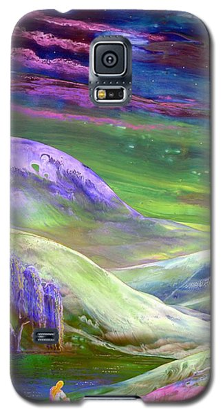 Moon Shadow Galaxy S5 Case by Jane Small