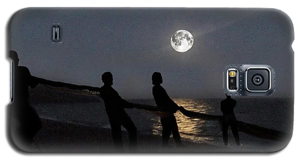 Galaxy S5 Case featuring the digital art Moon Shadows  by Eric Kempson