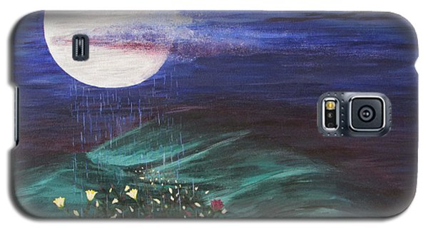 Moon Showers Galaxy S5 Case
